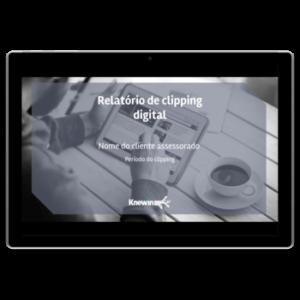 Relatório de clipping digital
